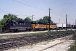 B&O 3776, 4347, and C&O 3868